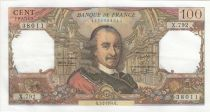 France 100 Francs Corneille - 07-02-1974 - Serial X.792