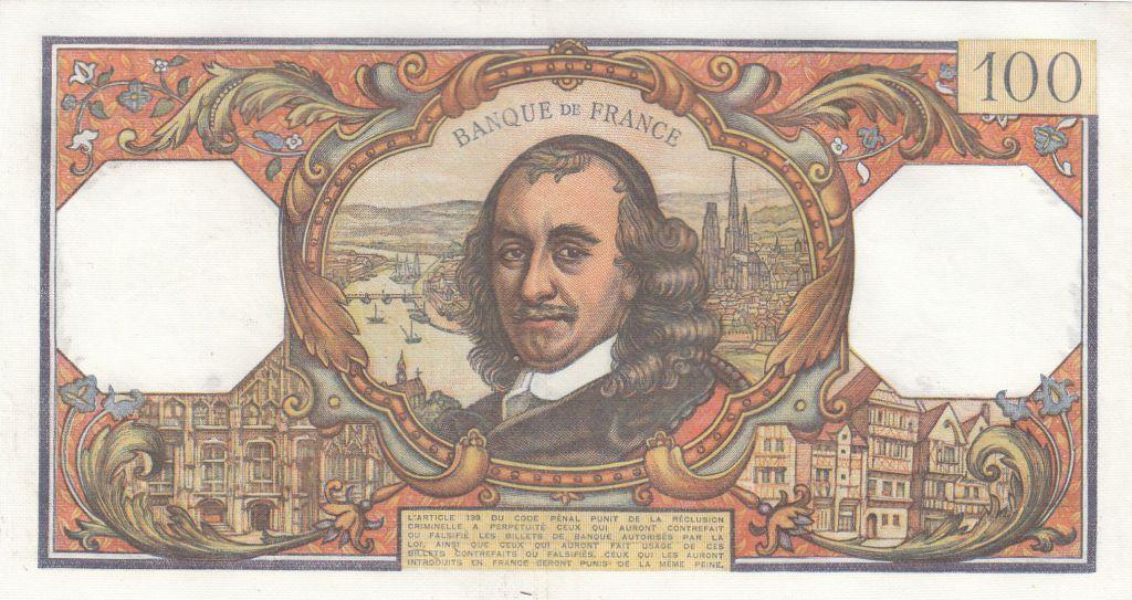 France 100 Francs Corneille - 07-12-1967 - Série P.277