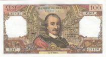 France 100 Francs Corneille -04-03-1976 - Serial C.947