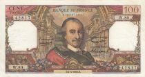 France 100 Francs Corneille 01-04-1965 - Serial W.80