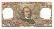 France 100 Francs Corneille 02-02-1978 - Serial J.1146