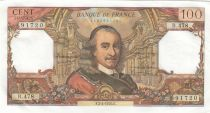 France 100 Francs Corneille 02-04-1970 - Serial B.478