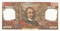 France 100 Francs Corneille 02-05-1968 - Serial L.327