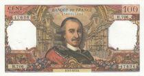 France 100 Francs Corneille 03- 05-1972 - Serial H.706