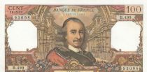 France 100 Francs Corneille 03-09-1970 - Serial X.470