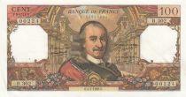 France 100 Francs Corneille 04-01-1968 - Serial B.302