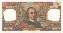 France 100 Francs Corneille 07-10-1965 - Serial X.108