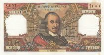 France 100 Francs Corneille 07-10-1965 - Série X.108