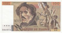 France 100 Francs Delacroix - 1978 - Serial Z.3 - AU