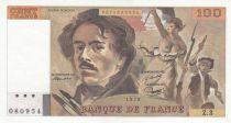 France 100 Francs Delacroix - 1978 - Série Z.3 non hachuré - SPL