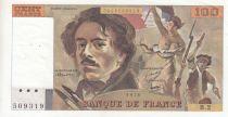 France 100 Francs Delacroix - 1978 Serial B.2