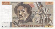 France 100 Francs Delacroix - 1978 Serial H.1 - F+