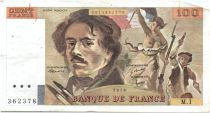 France 100 Francs Delacroix - 1978 Serial M.1 - P.153 - F to VF