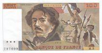 France 100 Francs Delacroix - 1978 Serial M.3 - P.153 - aUNC