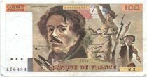 France 100 Francs Delacroix - 1978 Serial N.2 - P.153 - F+