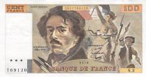 France 100 Francs Delacroix - 1978 Serial S.3 - VF+