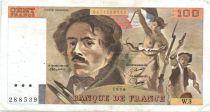 France 100 Francs Delacroix - 1978 Serial W.3 - P.153 - F+