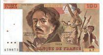 France 100 Francs Delacroix - 1978 Série A.7 - SUP