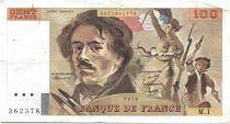 France 100 Francs Delacroix - 1978 Série M.1 - Non Hachuré - TB+/TTB