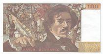 France 100 Francs Delacroix - 1978 Série M.3 - Hachuré -  P.Neuf