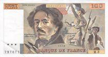 France 100 Francs Delacroix - 1978 Série M.3 - PSUP