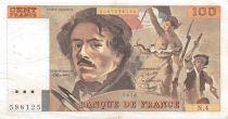 France 100 Francs Delacroix - 1978 Série N.4 - Hachuré - TTB