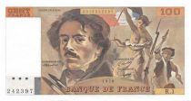 France 100 Francs Delacroix - 1978 Série R.1 - SPL