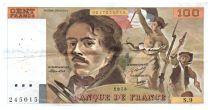 France 100 Francs Delacroix - 1978 Série S.9 - Petit filigrane - TTB