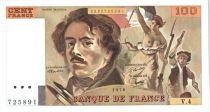 France 100 Francs Delacroix - 1978 Série V.4