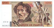 France 100 Francs Delacroix - 1978 Série W.4