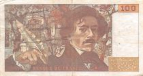 France 100 Francs Delacroix - 1978 Série X.4 - Hachuré - TTB