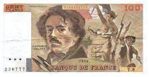 France 100 Francs Delacroix - 1978 Série Y.8 - Petit filigrane - TTB