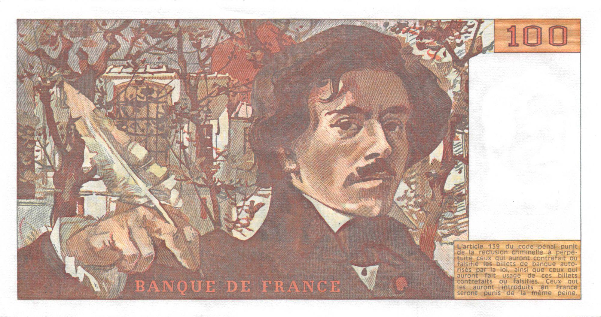 France 100 Francs Delacroix - 1979 - Série S.13 - NEUF