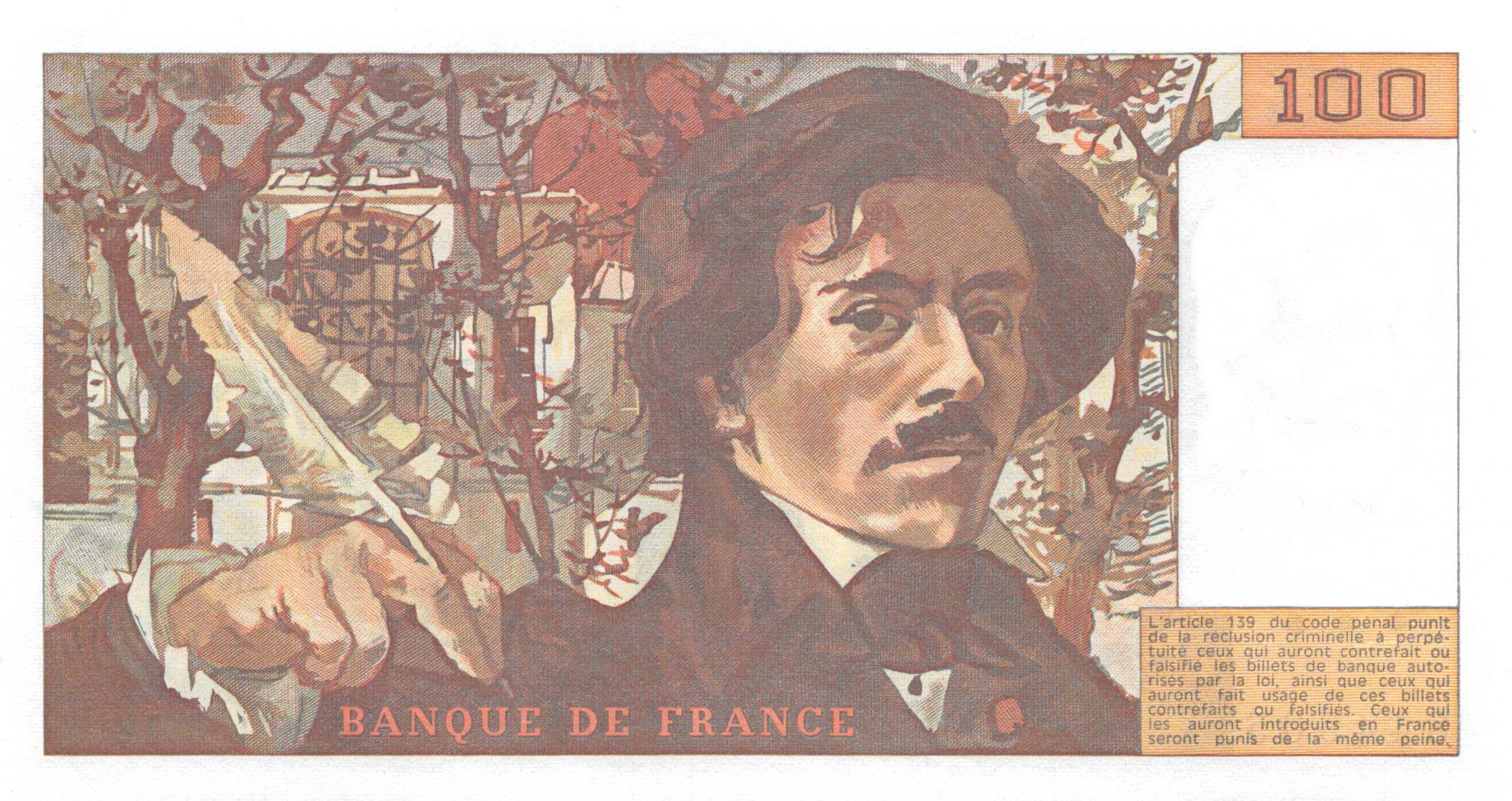 France 100 Francs Delacroix - 1979 Série F.12 - P.NEUF