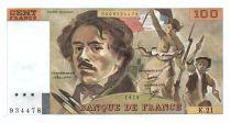 France 100 Francs Delacroix - 1979 Série K.21 - SUP
