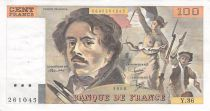France 100 Francs Delacroix - 1980 Serial Y.36 - VF
