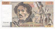 France 100 Francs Delacroix - 1980 Serial Y.42 - VF+