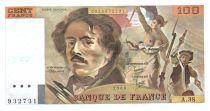 France 100 Francs Delacroix - 1980 Série A.38 - SUP