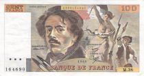 France 100 Francs Delacroix - 1980 Série M.36 - TTB