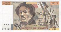 France 100 Francs Delacroix - 1980 Série O.23 - TTB+