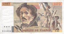 France 100 Francs Delacroix - 1980 Série T.40 - TB+