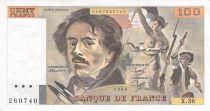 France 100 Francs Delacroix - 1980 Série X.36 - TTB