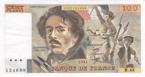 France 100 Francs Delacroix - 1981 Série H.44 - SUP
