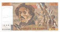 France 100 Francs Delacroix - 1981 Série U.53 - SUP
