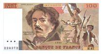 France 100 Francs Delacroix - 1983 Série H.67