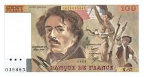 France 100 Francs Delacroix - 1983 Série K. 65