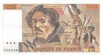 France 100 Francs Delacroix - 1983 Série R.68 - PSUP