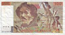 France 100 Francs Delacroix - 1984