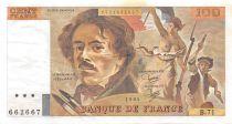 France 100 Francs Delacroix - 1984 Série B.71 - PSUP