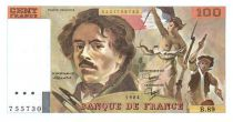 France 100 Francs Delacroix - 1984 Série B.89